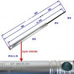 Amortizer naletne zavore KF30C-C1-D KR30B KR30HVB 87001413 Knott