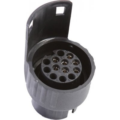 Adapter za prikolico iz 7-pin na 13-pin Elektro material Kunzer 6.55