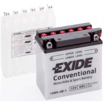 Akumulator Exide 12N9-4B-1 9Ah L+ 90A(EN) 135x75x139 Akumulatorji Exide 23.89