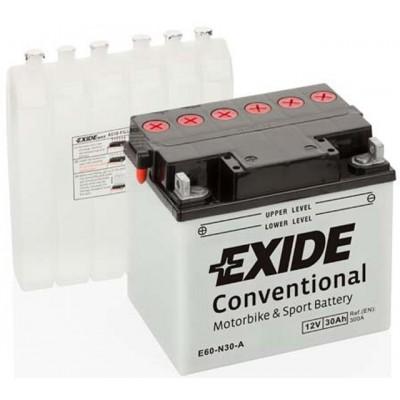 Akumulator Exide E60-N30-A L+ 30Ah 300A(EN) 185x128x168 Y60-N30-A Akumulatorji Exide 64.60