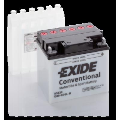 Akumulator Exide E60-N30L-B D+ 30Ah 300A(EN) 185x128x168 Y60-N30L-B Akumulatorji Exide 79.85