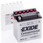 Akumulator Exide EB10L-A2 D+ 11Ah 130A(EN) 135x90x145 YB10L-A2