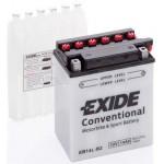 Akumulator Exide EB14L-B2 14Ah D+ 145A(EN) 135x90x165 YB14L-B2