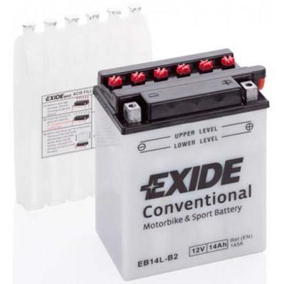 Akumulator Exide EB14L-B2 14Ah D+ 145A(EN) 135x90x165 YB14L-B2 Akumulatorji Exide 34.71
