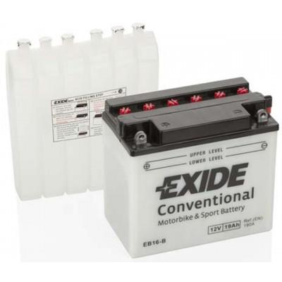 Akumulator Exide EB16-B L+ 19Ah 190A(EN) 175x100x155 YB16-B Akumulatorji Exide 49.86