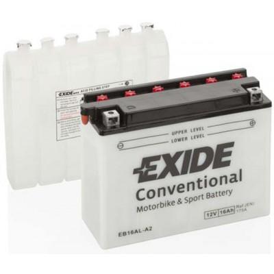 Akumulator Exide EB16AL-A2 D+ 16Ah 175A(EN) 205x70x162 YB16AL-A2 Akumulatorji Exide 44.43