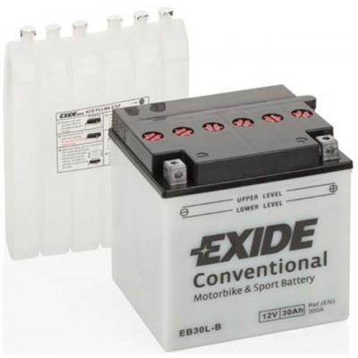 Akumulator Exide EB30L-B D+ 30Ah 300A(EN) 165x130x175 YB30L-B Akumulatorji Exide 57.89