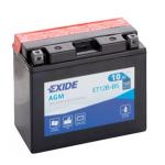 Akumulator Exide ET12B-BS L+ 10Ah 160A(EN) 150x70x130 YT12B-BS