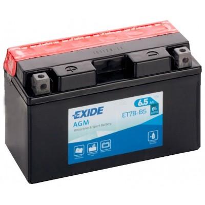 Akumulator Exide ET7B-BS L+ 6,5Ah 90A(EN) 150x65x93 YT7B-BS Akumulatorji Exide 24.59