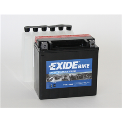 Akumulator Exide ETX14-BS L+ 12Ah 200A(EN) A2115410001 YTX14-BS Akumulatorji Exide 35.32