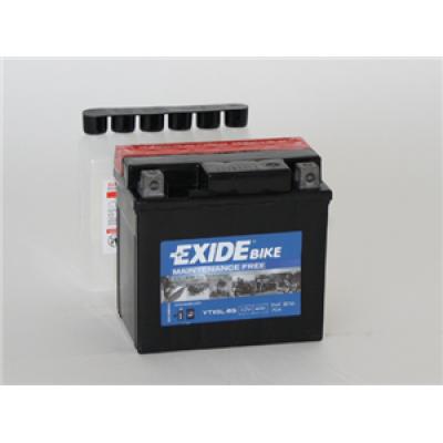 Akumulator Exide ETX5L-BS D+ 4Ah 70A(EN) 113x70x105 YTX5L-BS Akumulatorji Exide 21.50