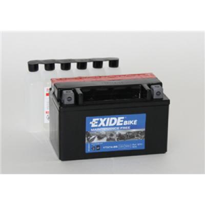 Akumulator Exide ETX7A-BS L+ 6Ah 90A(EN) 150x87x93 YTX7A-BS Akumulatorji Exide 23.20