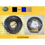 Kabel 2x0.75mm² za prikolico Hella 2 žilni