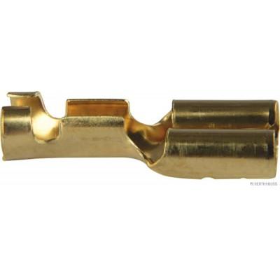 Kabeljski konektor čeveljček 6,3mm ravni HB Elektro material Herth Buss Elparts 0.11