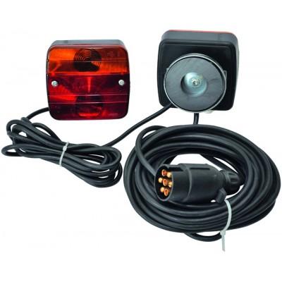 Luč za prikolico magnetna Elektro material Frielitz 30.37