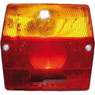 Luč za prikolico trikomorna Aspock Elektro material Aspock 7.04