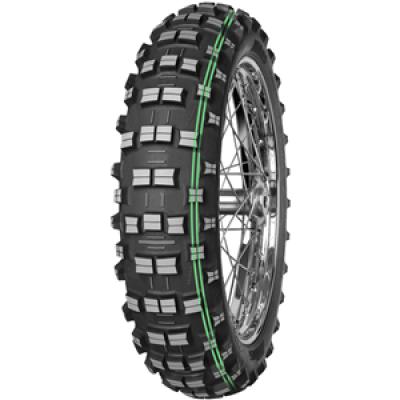Moto gume 140/80-18 70M EF-07 Super Soft Extreme TT Mitas 2 zeleni črti Gume Mitas 51.12