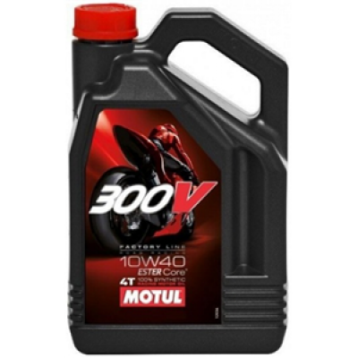 Olje Motul 4T 300V Factory Line 10W40 4L Olja Motul 51.00