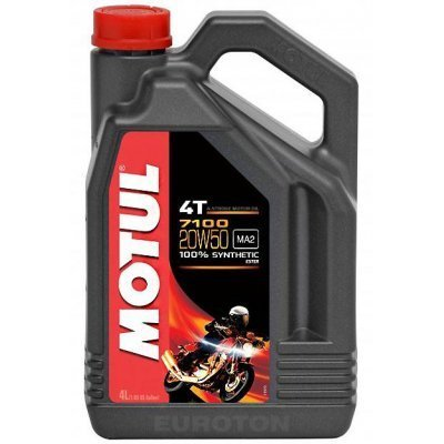 Olje Motul 4T 7100 20W50 4L Olja Motul 46.00
