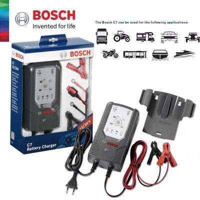 Polnilec in vzdrževalec akumulatorjev Bosch C7 018999907M Obvezna oprema in dodatki Bosch 70.00