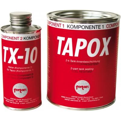 Tesnenje tesnilec rezervoarja za gorivo TAPOX 2-K Dodatki  33.47