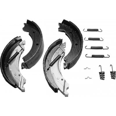 Zavore čeljusti za prikolico set BPW S 2005-5 R ASK 200x50 Zavorne čeljusti BPW 47.30
